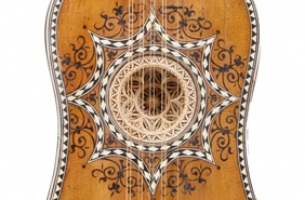 Venetian Baroque Guitar, attributed to Matteo Sellas, circa 1625