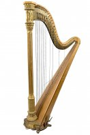 A Harp by Sebastian and Pierre Erard, London
