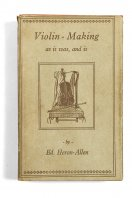 Violin Making as it was, and is Ed. Heron-Allen London, 1985