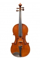 Violin by Louis F Milton, Bedford 1924