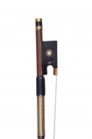 A Gold-Mounted Viola Bow by F. Passa
