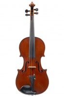 Violin by Emile Mennesson, Reims 1889