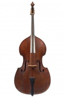 A Double Bass, possibly English circa 1820