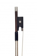 A French Silver-Mounted Violin Bow by Eugène Sartory