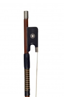A French Silver-Mounted Violin Bow by Paul Jombar