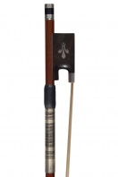 An English Silver-Mounted Violin Bow by Michael Taylor