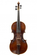 Violin by Johann Gottfried Hamm, Dresden circa 1780