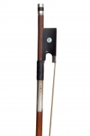 A French Silver-Mounted Violin Bow by Claude Thomassin, Paris