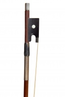 An English Silver-Mounted Violin Bow by W. E. Hill & Sons