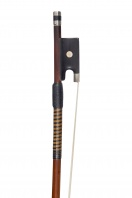 A French Silver-Mounted Violin Bow by F. N. Voirin