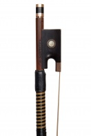 An English Gold-Mounted Violin Bow by John Clutterbuck