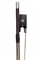 An English Silver-Mounted Violin Bow by James Tubbs