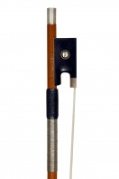 A French Silver-Mounted Violin Bow by J. F. Daber