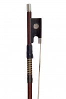 An English Silver-Mounted Violin Bow by Arthur Bultitude