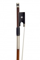 A French Nickel-Mounted Violin Bow by L. Morizot