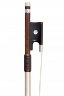 A French Silver-Mounted Violin Bow by a member of the Bazin family
