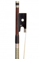 A French Silver-Mounted Violin Bow by Ouchard Pere