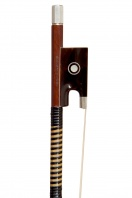 A Silver-Mounted Violin Bow by W. E. Hill & Sons