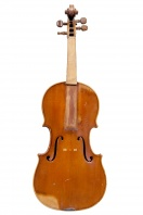 A French Violin, attributed to A. Delanoy, Bordeaux 1907