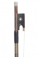 An English Silver-Mounted Violin Bow by Hart and Sons