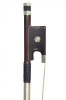 A Very Fine French Silver-Mounted Violin Bow by J. Henry