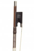 An English Silver-Mounted Violin Bow by J. Tubbs