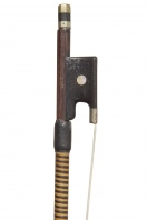 A French Nickel-Mounted Violin Bow