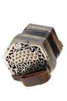 Concertina by Charles Jeffries, London