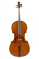 A German Cello, School of Dresden circa 1890