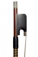 An English Silver-Mounted Cello Bow by W. E. Hill & Sons