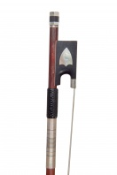 A French Silver-Mounted Violin Bow by P. Guillaume