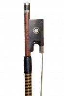 An English Silver-and-Tortoiseshell-Mounted Violin Bow by W. E. Hill & Sons