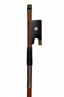 A German Nickel-Mounted Violin Bow by G. Prager