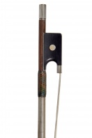 A German Silver-Mounted Violin Bow