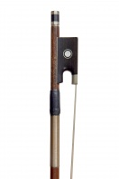 A German Nickel-Mounted Violin Bow by W. E Dorfler