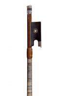 A Silver-Mounted Violin Bow by E. Blondelet