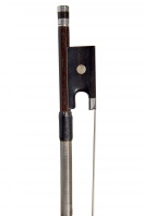 A French Silver-Mounted Violin Bow by Eugene Cuniot Hury