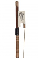 An English Ivory and Gold-Mounted Commemorative Violin Bow by Michael J. Taylor