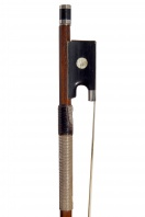 A French Silver-Mounted Violin Bow by Eugene Cuniot-Hury