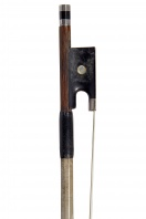 A French Silver-Mounted Violin Bow by C. Thomassin