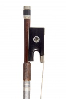 A Nickel-Mounted Violin Bow by Nicholas Maire
