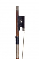 A Silver-Mounted Violin Bow by Gotthard Schuster
