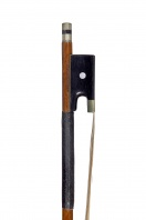 A Nickel-Mounted Violin Bow by Otto Hoyer
