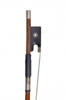 A German Silver-Mounted Violin Bow by G. Rudi Steinel