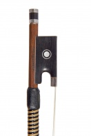 A Silver-Mounted Violin Bow by Hill & Sons circa 1960