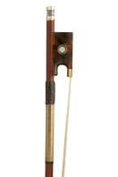 A Very Fine and Important Gold & Tortoiseshell-Mounted Violin Bow by Francois Xavier Tourte, Paris circa 1820