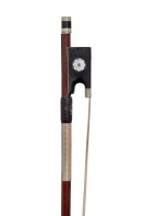 A German Nickel-Mounted Violin Bow