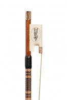 33 An English Ivory and Gold-Mounted Commemorative Violin Bow by Michael J. Taylor