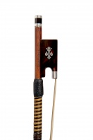 An English Silver & Tortoiseshell-Mounted Violin bow by William Napier for W.E. Hill & Sons