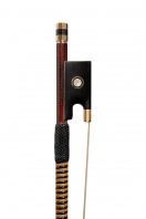 A German Gold-Mounted Violin Bow by Albert Nurnberger